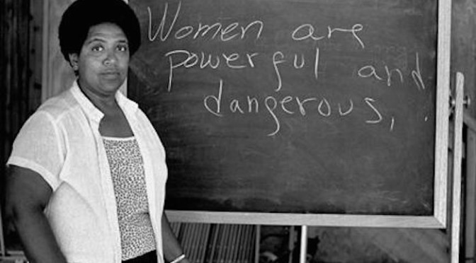 Audre Lorde: The Uses of Anger